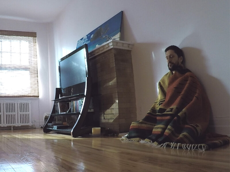 VIPASSANA; 3 jrs enfermé. 30h à méditer