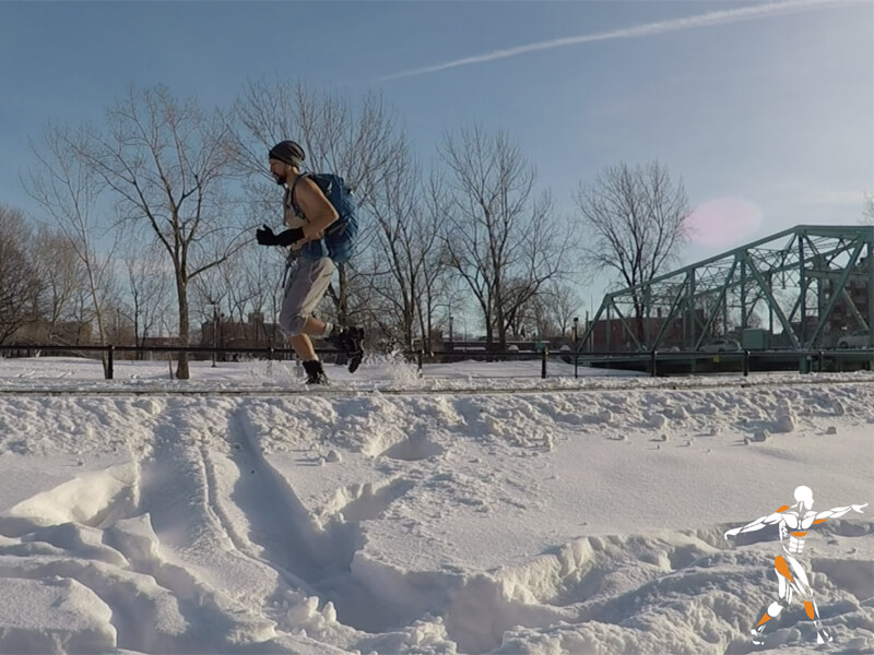 WHM - Entraînement au froid,course,froid,wim hof method,slow training,eric blais,musculation dehors,respiration,exercices,